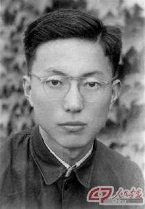 1951年,金怡濂在清华大学的毕业照。